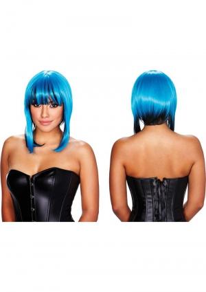 BELLADONNA WIG - BLUE / BLACK