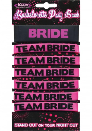 Team Bride Party Bands