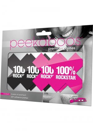 100% Rockstar Black And Pink