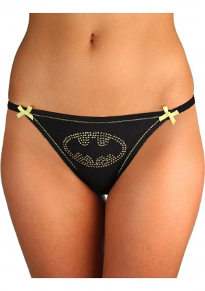 BATMAN LACE BACK PANTY-1X/2X