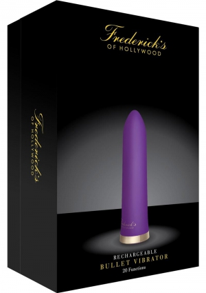 Foh-rechargeable Bullet Vibrator-purple