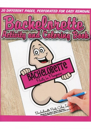 BACHELORETTE ACTIVITY COLORING BOOK