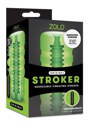 ZOLO ORIGINAL SQUEEZABLE VIB STROKER