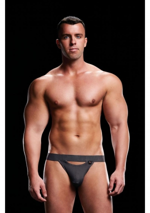 LOW RISE JOCK GREY-SMALL/MEDIUM