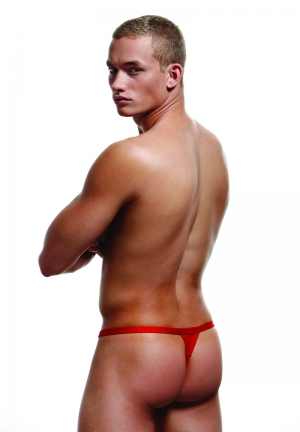 BREAK A WAY THONG S/M RED