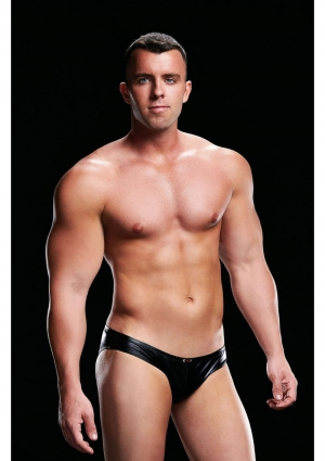 LOW RISE BRIEF BLACK-MEDIUM/LARGE